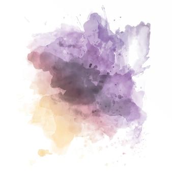Aquarell splatter