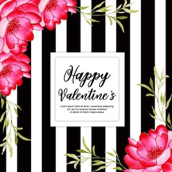 Aquarell valentine frames