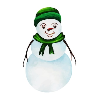 Aquarell weihnachten weihnachtsmann
