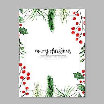 Aquarell weihnachtskarten