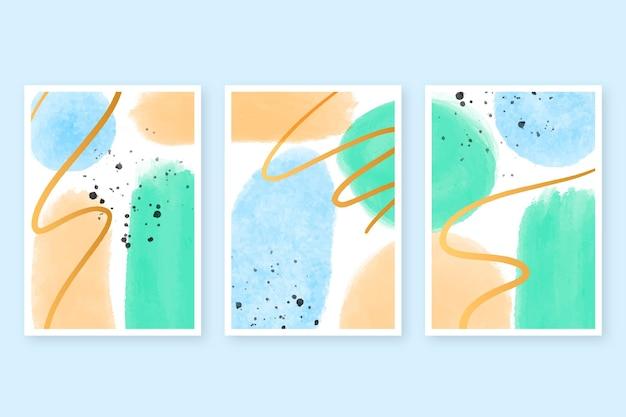 Aquarellabdeckungssammlung