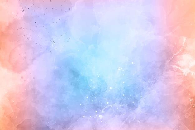 Aquarellflecken abstrakten hintergrund