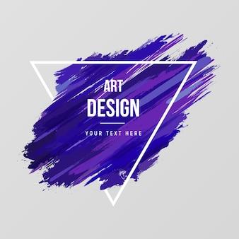 Aquarellhintergrund der modernen kunst