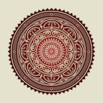 Arabesken-design.