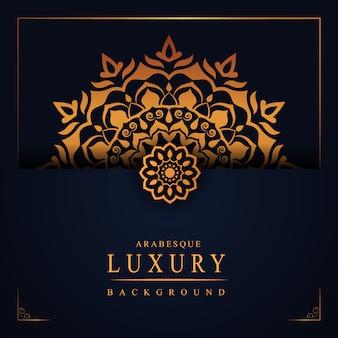 Arabesque luxus hintergrund
