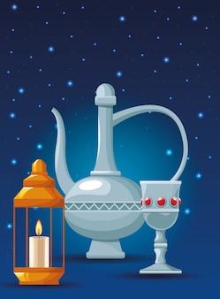 Arabische elemente symbole