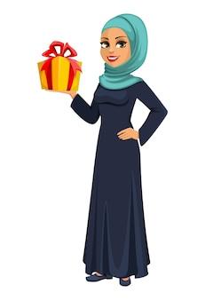 Arabische geschäftsfrau