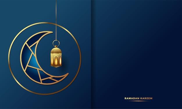 Arabische kalligraphie-grußkarte des ramadan kareem Premium Vektoren