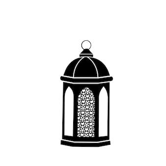 Arabische laterne. fanous ist das symbol des ramadan.