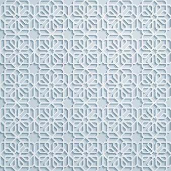Arabischer geometrischer musterhintergrund
