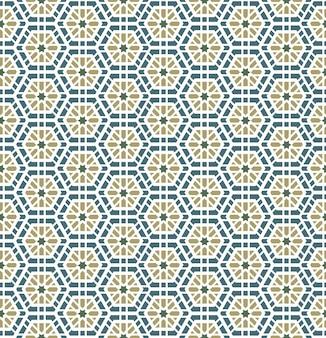 Arabisches geometrisches nahtloses muster