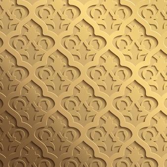 Arabisches ornament blumenmuster