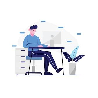 Arbeiten von home illustration design