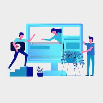 Arbeitsgruppe zu social media