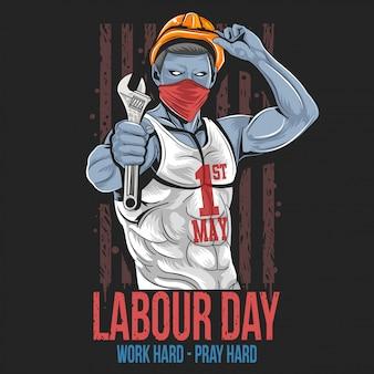 Arbeitstag 1 mai tag