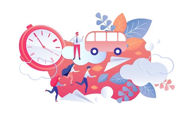 Arbeitszeit für dauer und regelmäßigkeitskontrolle.