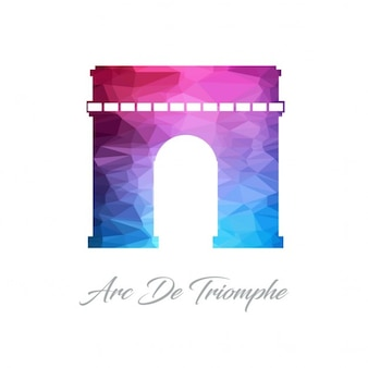 Arc de triomphe polygon