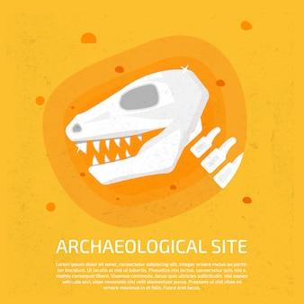 Archäologische fundstätte