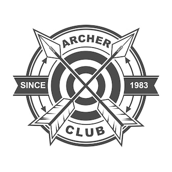 Archer club logo design