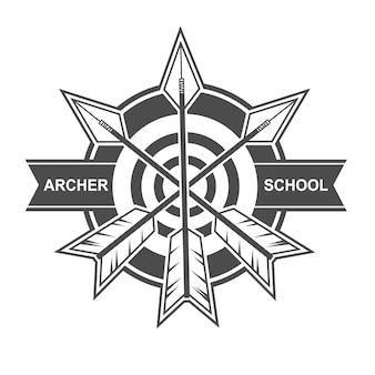 Archer school logo design