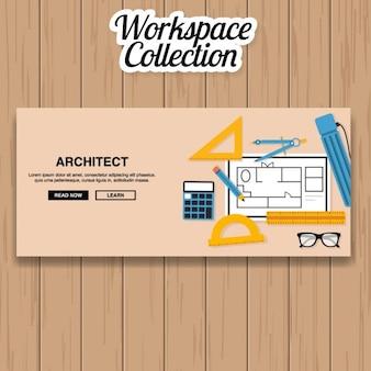 Architekt banner-design