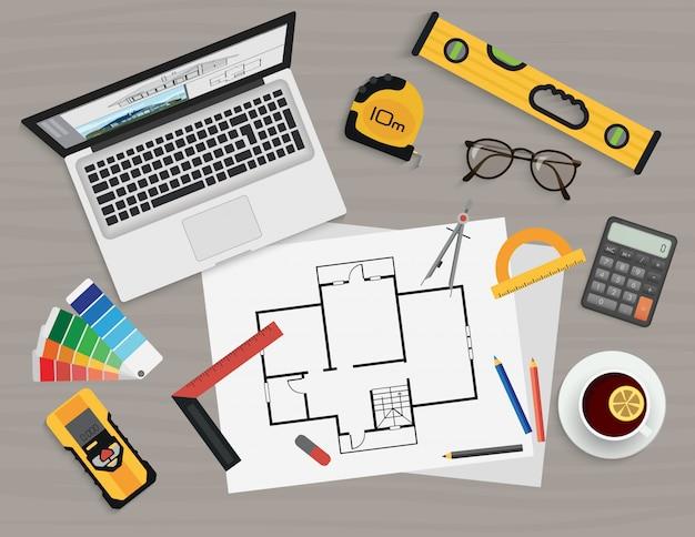 Architekt, der prozess erstellt