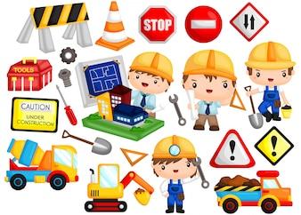 Architekt und Bau