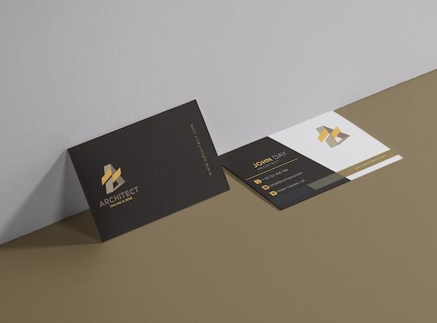 Architekt-visitenkarte