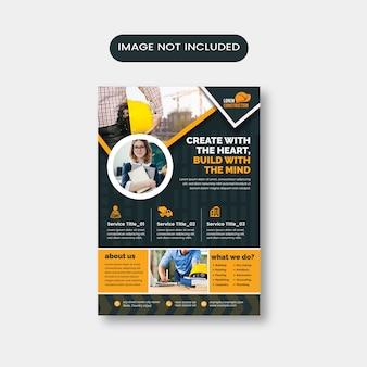 Architektur-flyer-layout