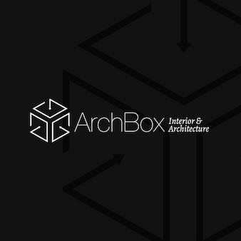 Architektur- und innenarchitektur-logo