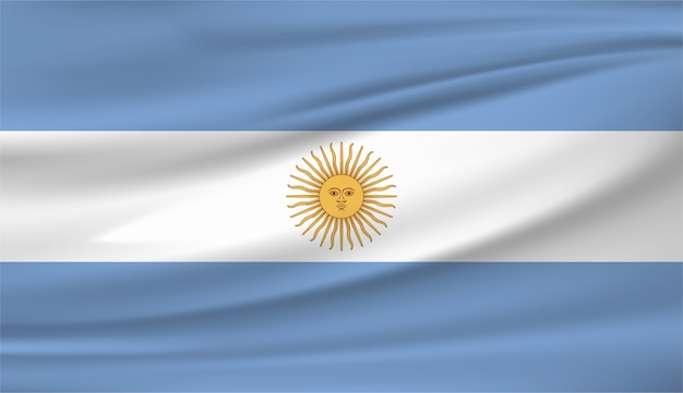 Argentinien nationalflagge