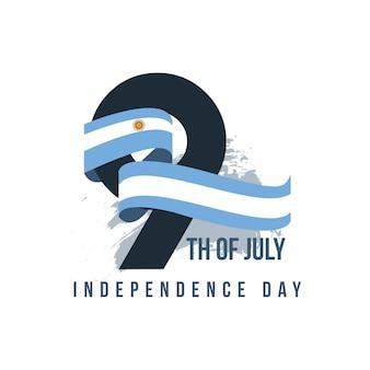 Argentinien unabhängiger tag