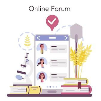 Argonomist online-dienst oder plattform