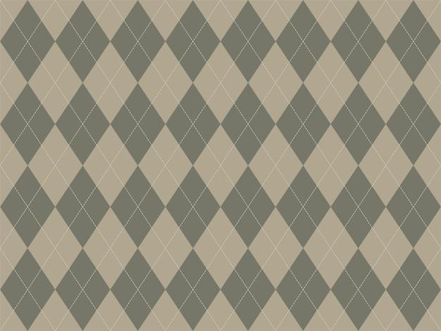 Argyle muster nahtlos. stoff textur hintergrund. klassische argillverzierung.