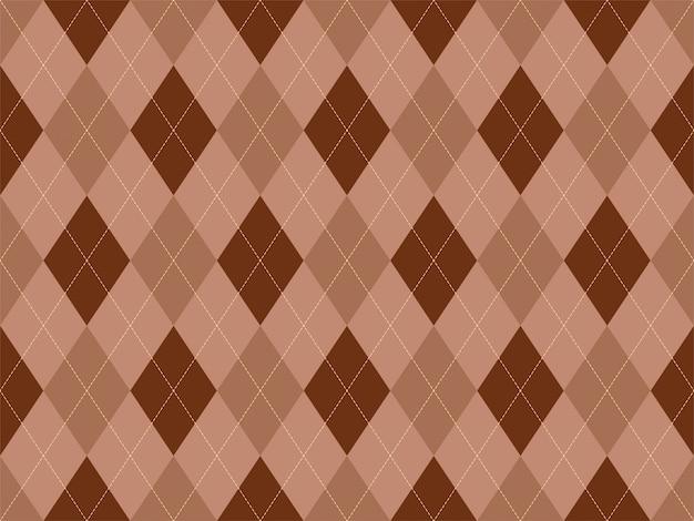 Argyle muster nahtlos. stoff textur hintergrund. klassischer argill.