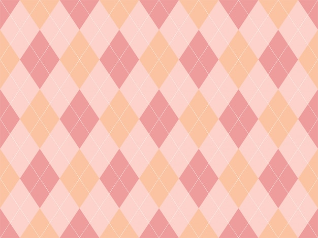 Argyle muster nahtlos. stoff textur hintergrund.