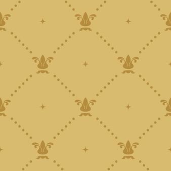 Aristokratische barocktapete. abstrakter dekorativer hintergrund mit weinlesedesign,