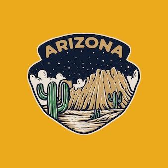 Arizona retro vintage outdoor-abenteuer
