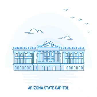 Arizona state capitol blauer markstein