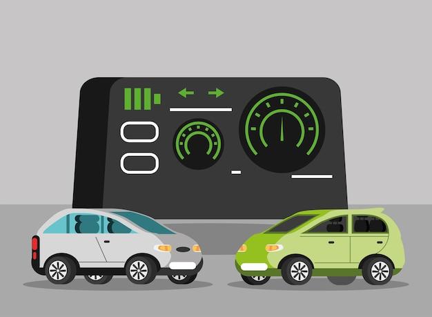 Armaturenbrett elektroautos