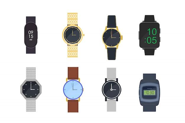 Armbanduhren eingestellt