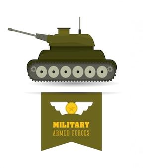 Armee design illustration