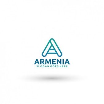 Armenien logo-vorlage