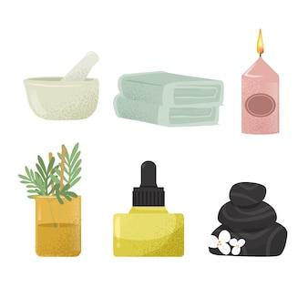 Aromatherapie-elementpaket