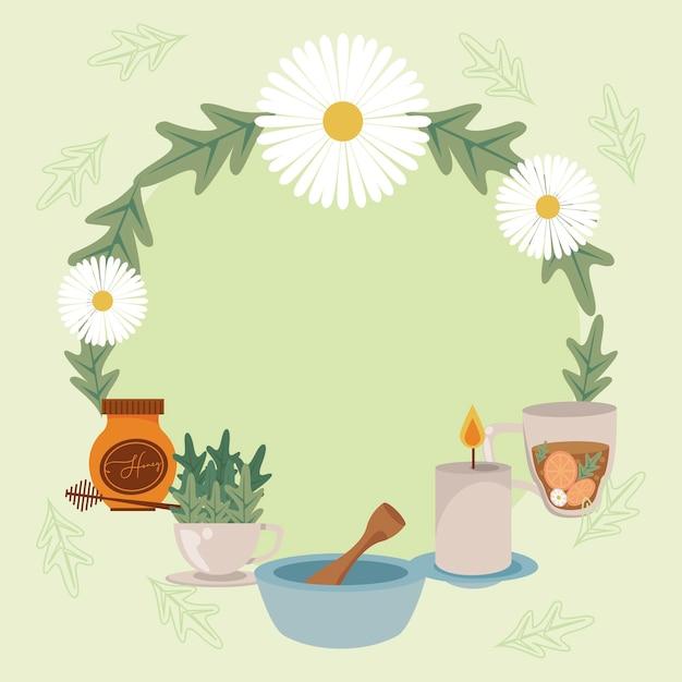 Aromatherapie-produkte in der umgebung
