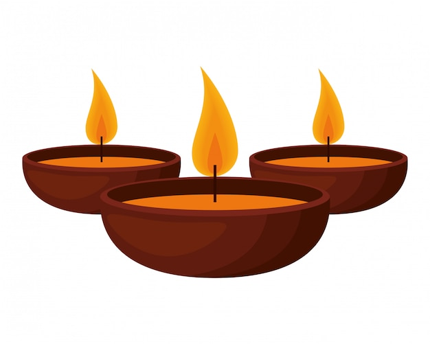 Aromatherapie set kerzen symbole