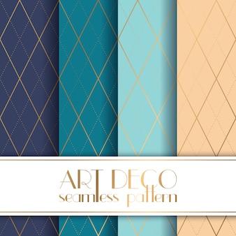 Art Deco nahtlose Muster