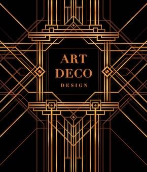 Art deco rahmen, the great gatsby deco style.