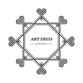 Art-deco-rahmen