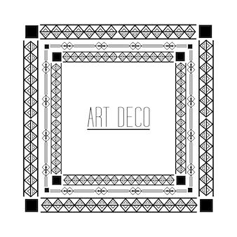 Art- decorahmen geometrisches abstraktes dekorativ